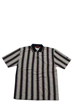 (MEN'S)ストライプポロシャツ
