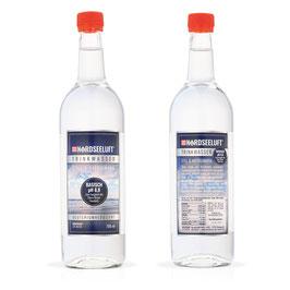 Nordseeluftwasser Basisch - Glasflasche 750 ml - Karton mit 6 Stück