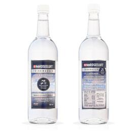 Nordseeluftwasser Pur - Glasflasche 750 ml - Karton mit 6 Stück