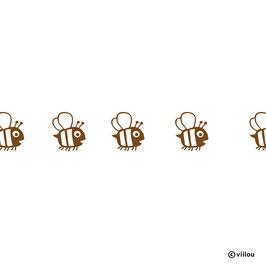 Wandsticker Bordüre Bienchen