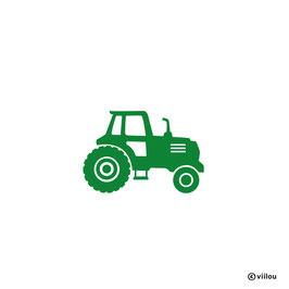 Patches: Bügelbild Traktor