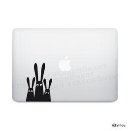 Computer Sticker Häschen x3