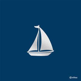 Reflektor Patch Segelboot