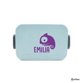 Kinder Lunchbox Sticker CHAMÄLEON