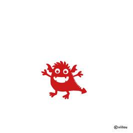 Patches: Bügelbild Drache oder Monster?