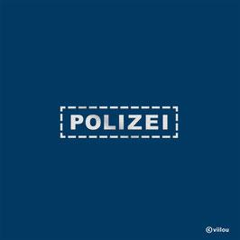 Reflektor Patch Polizei