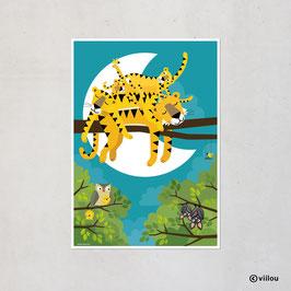 Familie Tiger Poster