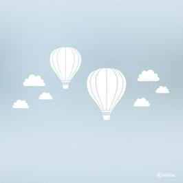 Fenstersticker Fesselballons
