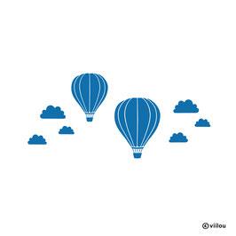 Wandsticker Fesselballons