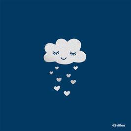 Reflektor Patch Wolke mit Herzchen