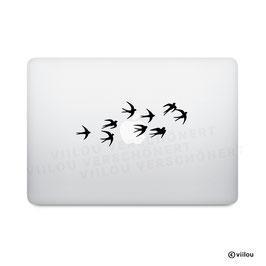 Laptopsticker SCHWALBEN