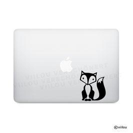 Laptopsticker FUCHS