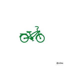 Patches: Bügelbild Fahrrad