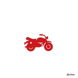 Patches: Bügelbild Motorrad