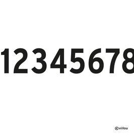Patches Zahlen A: Bügelbild Ziffer nach Wunsch