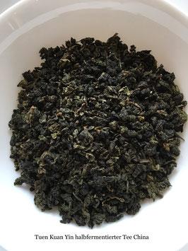 Tien Kuan Yin halbfermentierter Tee China
