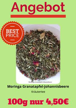 Moringa Granatapfel-Johannisbeere