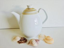 Hutschenreuther Teekanne mit Goldrand Dekor