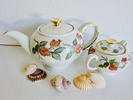 Rosenthal Teekanne Dekor Hagebutte