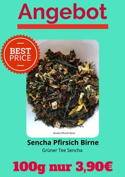 Sencha Pfirsich Birne