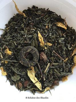 Die Acht Schätze des Shaolin Grüner Tee/Weißer Tee