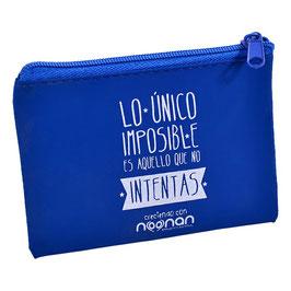 Monedero Noonan Azul