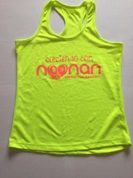 CAMTIRL Camiseta Tirantes Talla L Verde Lima