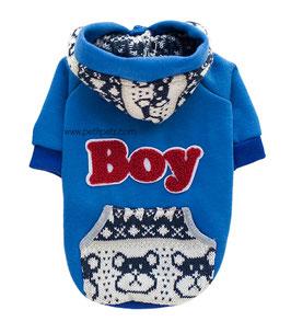 """Sudadera para perro """"Boy"""""""