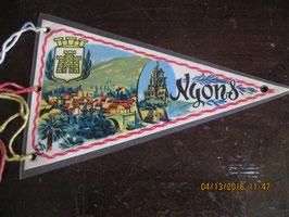 FANION DE NYONS VAUCLUSE TRES JOLIE REGION DE PROVENCE CONNUE POUR  SON HUILE D OLIVES