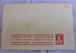 TIMBRES TINTIN  . LA GEOGRAPHIE DE BELGIQUE