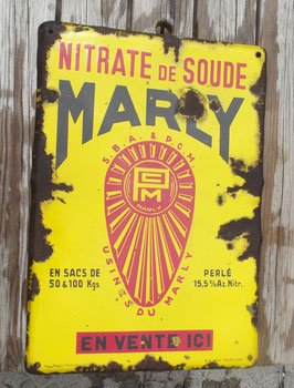 TOLE EN EMAIL MARLY 1938 EMAILLERIE HOWOCO
