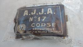 PAQUET DE TABAC AJJA 17 CORSE COUPE FINE MELANGE SUPPEREIEUR 1391 A  50 GRS
