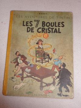 TINTIN LES 7 BOULES DE CRISTAL 1949 PAR HERGE