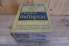 ANNUAIRE JAUNE TOUTE LA FRANCE DE 1946-1947