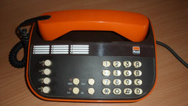 TELEPHONE ALCATEL ORANGE DE 1986 POUVANT GERER 4 LIGNES DIFFERENTES