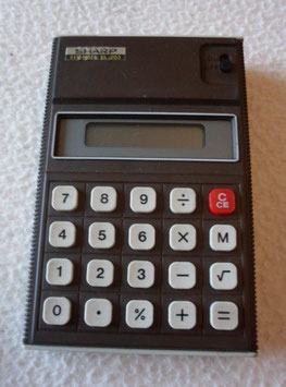 CALCULATRICE SHARP ELSI MATE EL 203