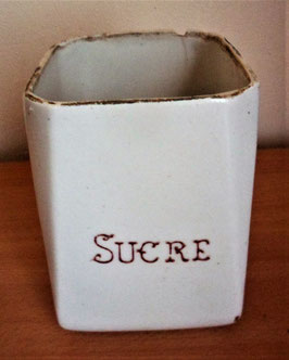 ANCIEN POT A  SUCRE
