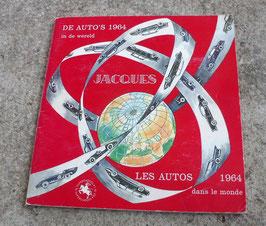 """ALBUM JACQUES """" LES AUTOS DANS LE MONDE 1964"""" Il manque 5 photos"""