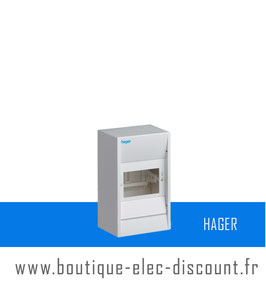 Coffret Cache-borne 4 modules Réf GD104A Hager