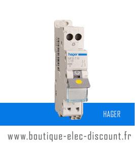Disjoncteur Hager 16A Réf MFS716 SanVis