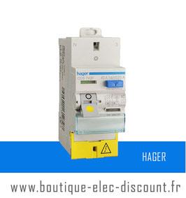 Interrupteur Différentiel Hager 40A 30mA AC SanVis Réf CDS742F