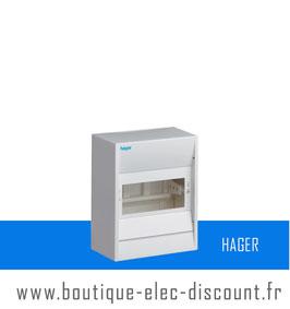 Coffret Cache-Borne 6 modules Réf GD106A Hager