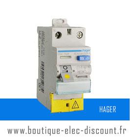 Interrupteur Différentiel Hager 40A 30mA AC à vis Réf CDC742F