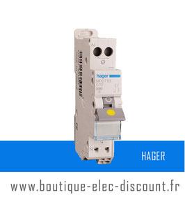 Disjoncteur Hager 10A Réf MFS710 SanVis