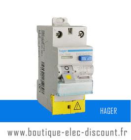 Interrupteur Différentiel HAGER 63A 30mA AC à vis Réf CDC764F