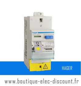 Interrupteur Différentiel Hager 63A 30mA A SanVis Réf CDS765F