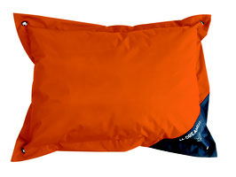 Natuna outdoor Kissen M orange & grau