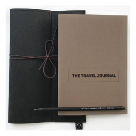 TRAVEL BUNDLE BRAUN - Journal soft, Bag, Pen