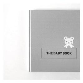 THE BABY BOOK - Erinnerungsalbum (grau)