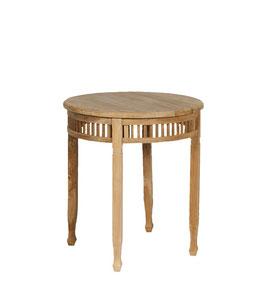 Tisch Teakholz rund